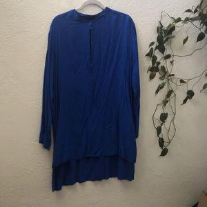 Blue Gap Swimsuit Coverup Tunic